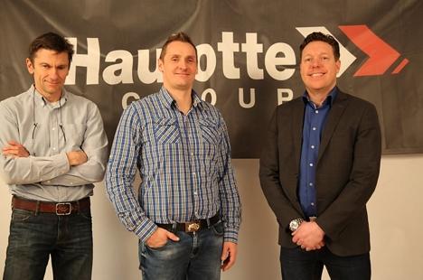 Pressebilde Haulotte 2 (fra venstre Truels Gedde Bent Nygaard Andreas Leinsdorff)