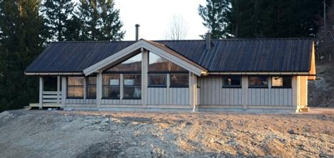Hedda - ny hytte på Norsk Hyttesenter