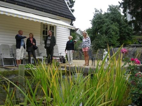 1000 åpne hager med vanndam
