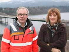 Taale Stensbye og Anne Braaten