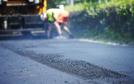 illustrasjonsbilde asfalt skanska