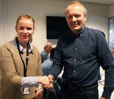 Hilde Ulvik og Ivar Roland