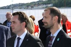 Stian B Røsland og Hallstein Bjercke