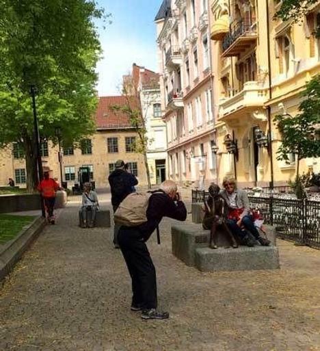 Statue_bankplassen