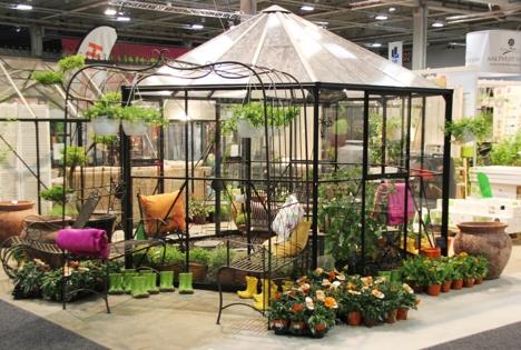 Hagemessen 2015_Drivhus med planter Bryn Gartneri