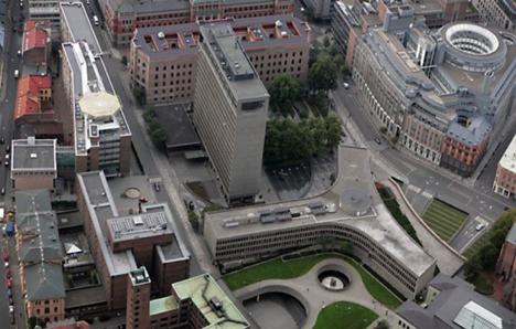 regjeringskvartalet foto statsbygg