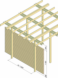 Pergola SINTEF byggforsk byggebeskrivelse