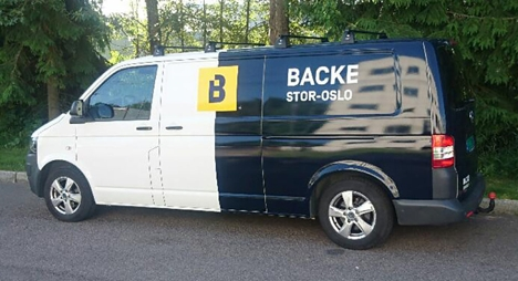 Backe Stor-Oslo bil
