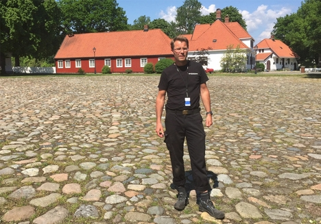 Jarle Amundsen, driftsleder Fredriksvern verft