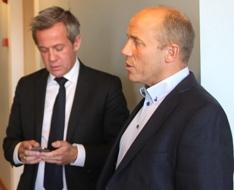 Oddmund Hansen og Morten Goller