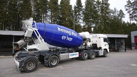 Betong Øst betongbil