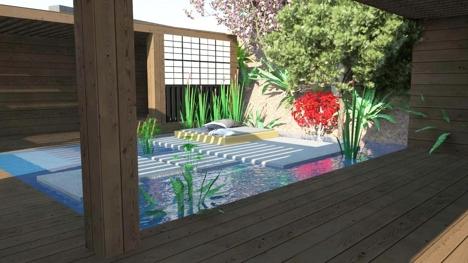 Naml-hagen japansk hage