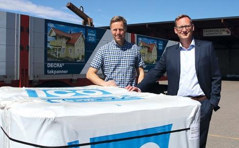 Frode Myrmel og Håkan Magnusson