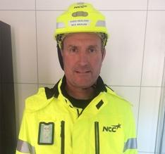 Lærlingansvarlig Even Hedland i NCC Norge