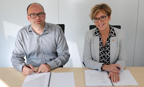 Ivar Galaaen og Berit Brendskag Lied foto Linn Silseth