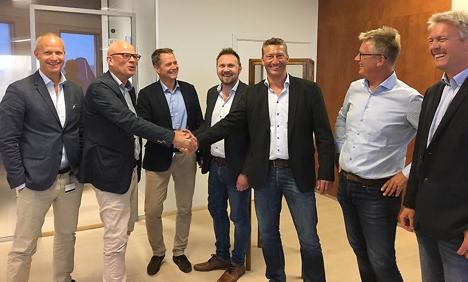 201709 skianlegget Snø kontraktssignering