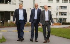 Kjetil Runningen (h) Peab Lasse Skjelbred Conceptor Bolig og John Ivar Mejlander-Larsen Peab