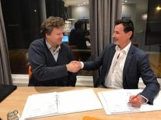 Signering Bakke