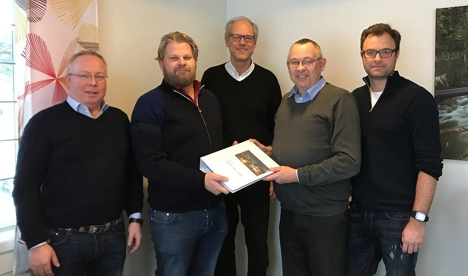 Signering Elvepromenade Sandvika Steen Lund AS