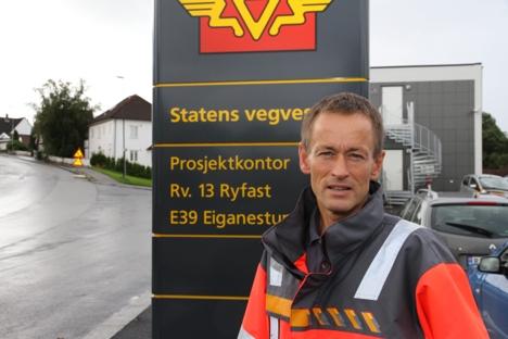 Gunnar Eiterjord, prosjektleder Ryfast