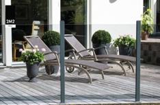 Glassgjede hagemøbel Europris2