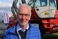 Øyvind Stegavik, teknisk ansvarlig i Hesselberg Maskin.