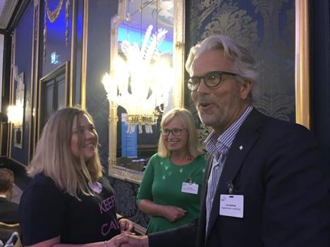 Jon Sandnes og Marie Linn Havsgaard