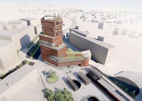 Nytt togbygg på Brynseng stasjon