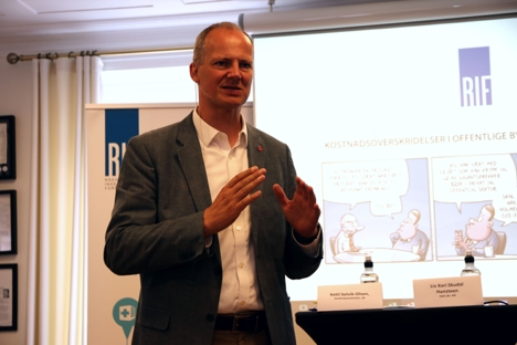 Solvik Olsen RIF Arendal