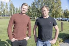 Bilde 2 Tore Hokstad og Johnny Arefjord