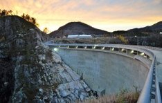Sarvsfossen dam 1200