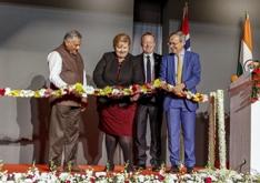 Erna Solberg i India