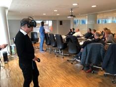 Øyvind Sandal tester VR