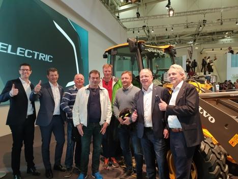 Volvo deal Bauma