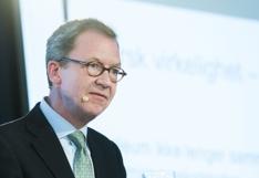 Idar Kreutzer som sitter i regjeringens ekspertutvalg under lanseringen av rapport om grønn konkurransekraft.