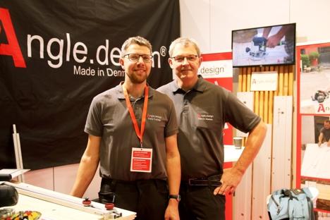 Henrik Nielsen og Niels Freitag med sitt selskap, Angle Design.