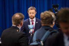 Pressekonferanse om koronavirusutbruddet