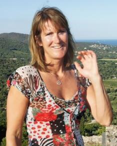 Kari Sandberg på hytta