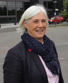 prosjektleder Gry Ingebretsen i MGF