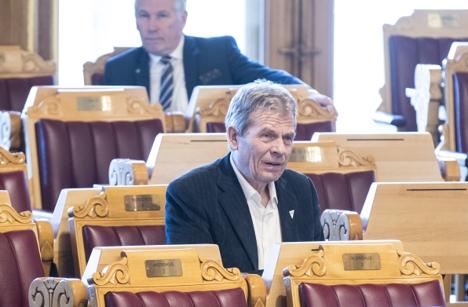 Statsminister Erna Solberg i Stortingets spørretime.