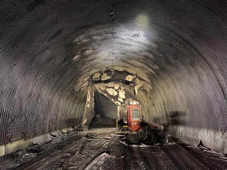 Haramsfjordtunnelen Austnes foto Svein Skeide-Møre og Romsdal fylkeskommune.