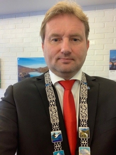 Ordfører Vidar Eltun