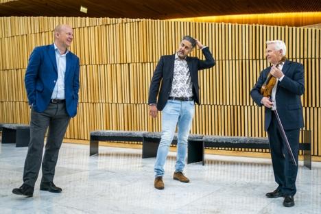 Kulturminister Abid Raja bevilger støtte til Ole Bull museet